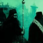 monaci processione a