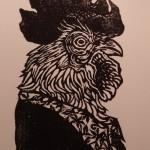 cosimo miorelli,woodcut,cosimomiorelli,czm,rooste,gallo