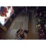 cosimo miorelli,cosimomiorelli,giorgio pacorig,visioni sonore, pordenone,whale,balena,mobydick,moby dick,live-painting,live painting,multimedia,performance,storytelling,illustration,rhodes,flavio massarutto