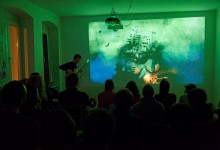 baustelle, cosimo miorelli, cosimomiorelli, hannes buder,guitar,solo, illustration, live painting, multimedia, performance, rhodes, storytelling,cantiere,berlino,haus,berlin